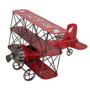 Dekoratívne lietadlo Antic Line Ailes Rouge