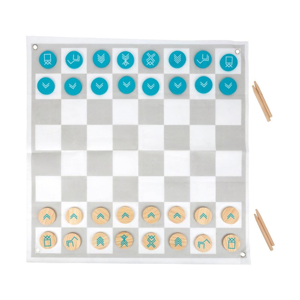 Drevené šachy/drevená dáma Legler Draughts and Chess