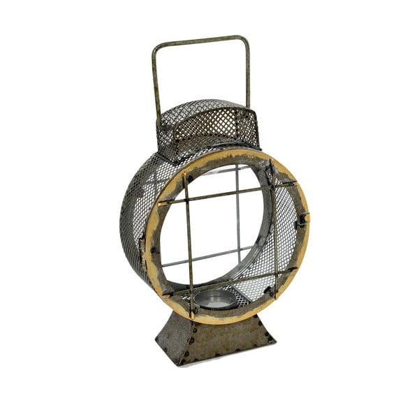 Kovový lampáš Grey, 20x8x29 cm