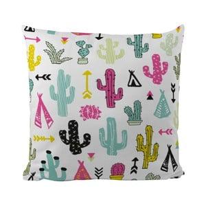 Vankúš Cacti And Teepee, 50x50 cm