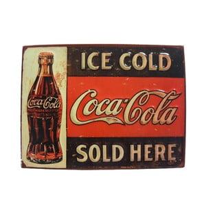 Ceduľa na stenu Ice Cold Coca Cola