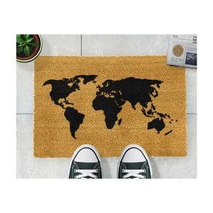 Rohožka Artsy Doormats World Map, 40x60cm