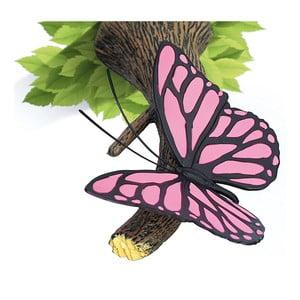 Nástenné svetlo s nálepkou Tnet Pink Butterly
