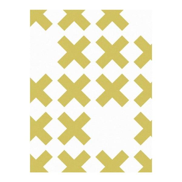 Vliesová tapeta System Yellow, 0,53x10,05 m