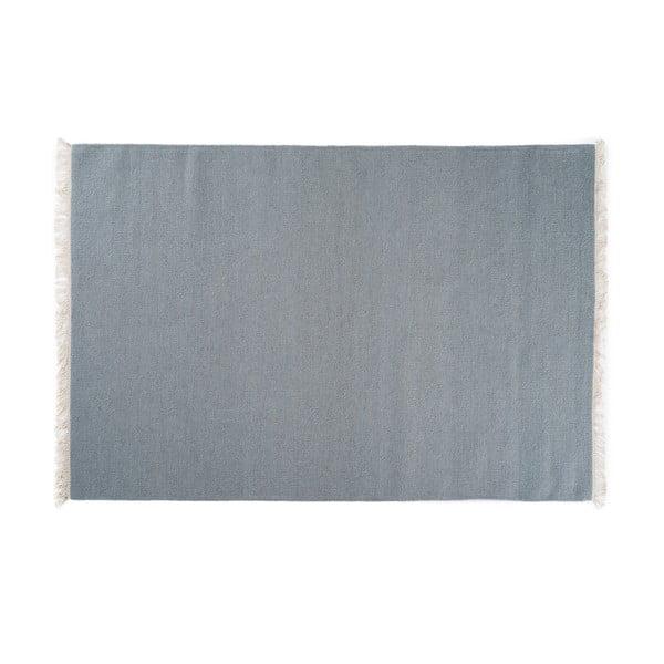 Vlnený koberec Rainbow Teal, 140x200 cm