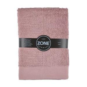 Ružová osuška Zone, 140x70cm