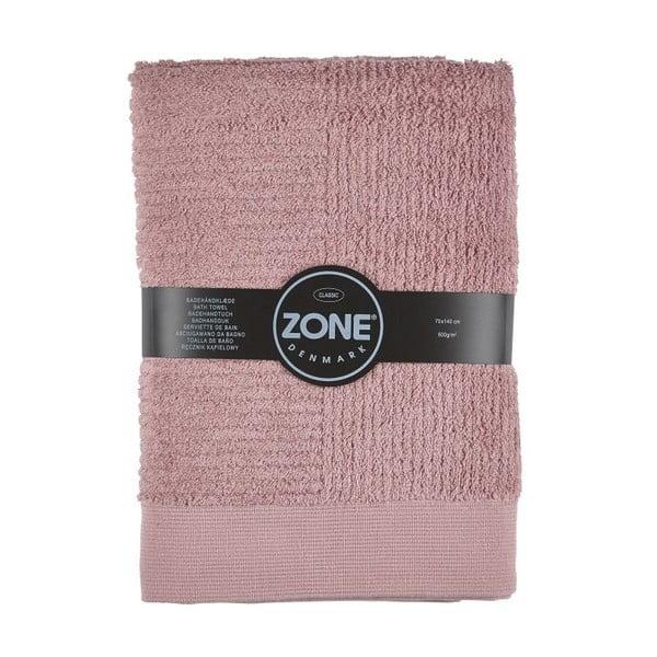 Ružová osuška Zone Classic, 70x140cm