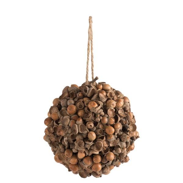 Závesná dekorácia s orieškami J-Line Nuts, ⌀ 15 cm