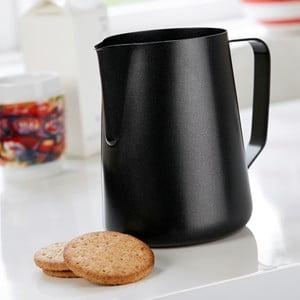 Čierna antikoro nádoba na mlieko Steel Function Milk Black, 1,5 l