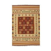Ručne tkaný koberec Kilim Julep, 95x155cm