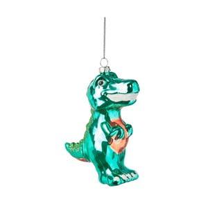 Vianočná závesná ozdoba zo skla Butlers Tyranosaurus