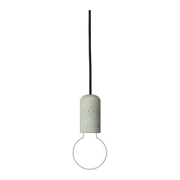 Čierne svietidlo od Jakuba Velínského, 1,2 m