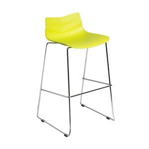 Barová stolička D2 Leaf, limetová