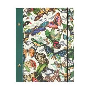 Zápisník Portico Designs Butterflies