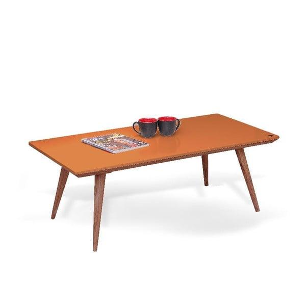 Stolík Marlen Orange, 115x40x60 cm