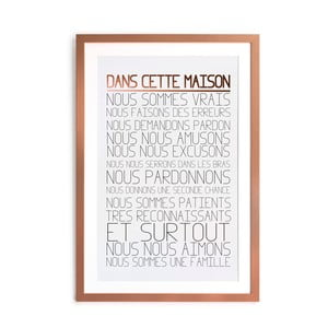 Obraz Really Nice Things Dans Maison, 60 × 40 cm
