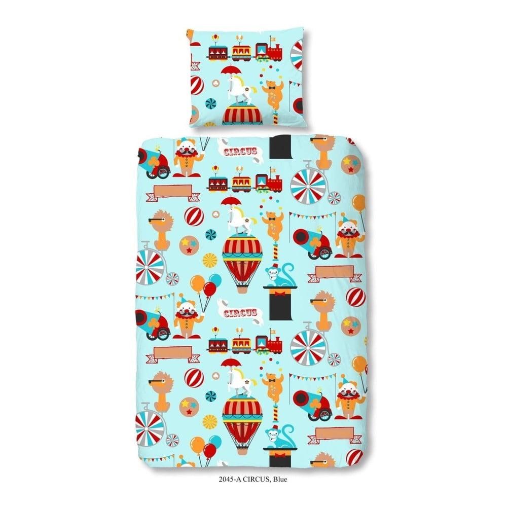 Detské bavlnené obliečky Good Morning Circus, 140 × 200 cm