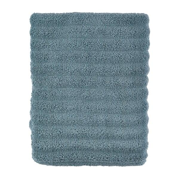 Sivo-modrá osuška Zone Prime, 70x140cm