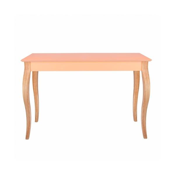 Oranžový odkladací stolík Ragaba Console,dĺžka105cm