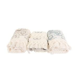 Sada 4 modro-bielych uterákov Marcelo