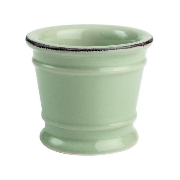 Zelený porcelánový stojanček na vajíčko T&G Woodware Pride of Place