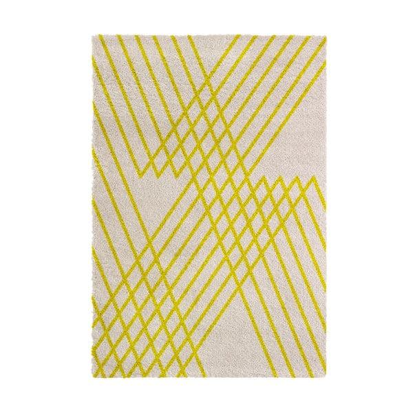 Koberec Chiffon 160x230 cm, žltý