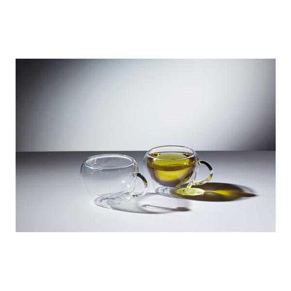 Dva sklenené hrnčeky na čaj  Kitchen Craft  Le'Xpress,  230 ml