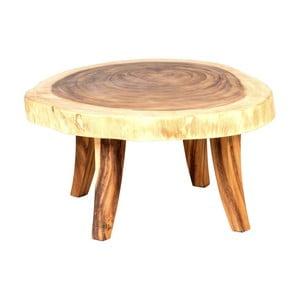 Záhradný konferenčný stolík z dreva suar Massive Home Boot