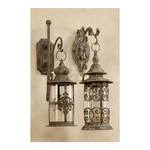 Sada 2 nástenných lampášov Macy