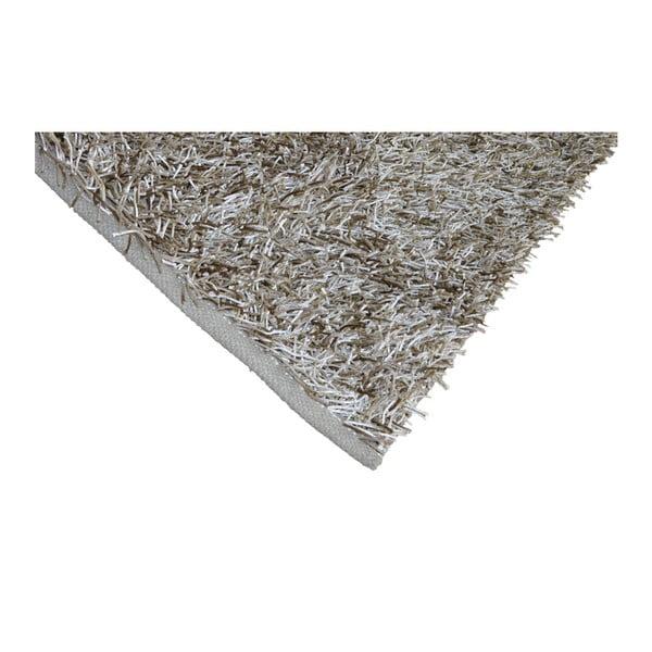 Béžový koberec Webtappeti Shaggy, 120 x 170 cm