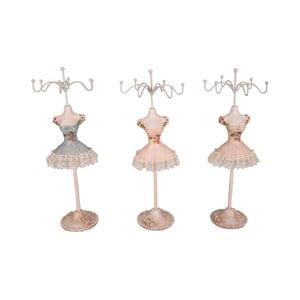 Sada 3 stojanov na šperky Antic Line Ballerinas, výška 25cm
