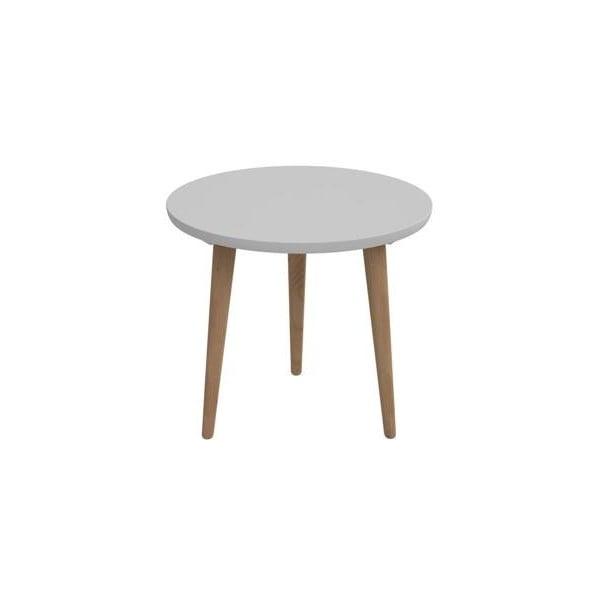 Stôl D2 Bergen, 60 cm, sivý