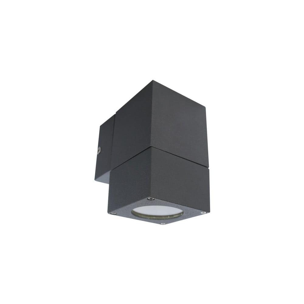 Tmavosivé nástenné svietidlo SULION Kopyo