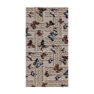 Odolný koberec Vitaus Cindy, 50 x 80 cm