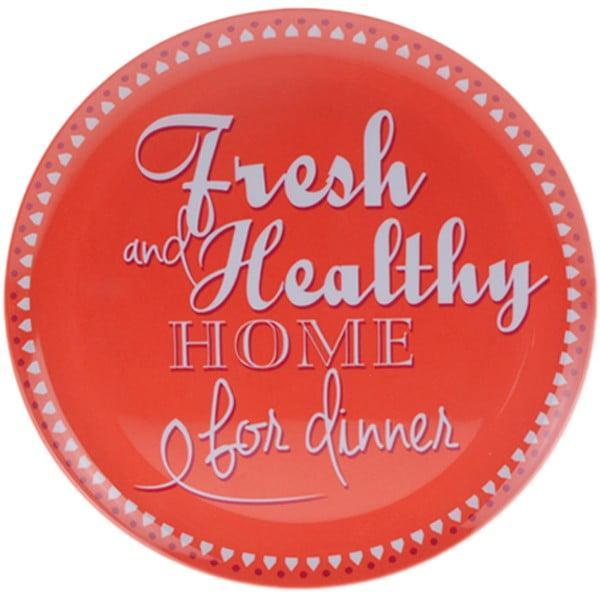 6-dielna kempingová sada riadu Postershop Fresh and Healthy