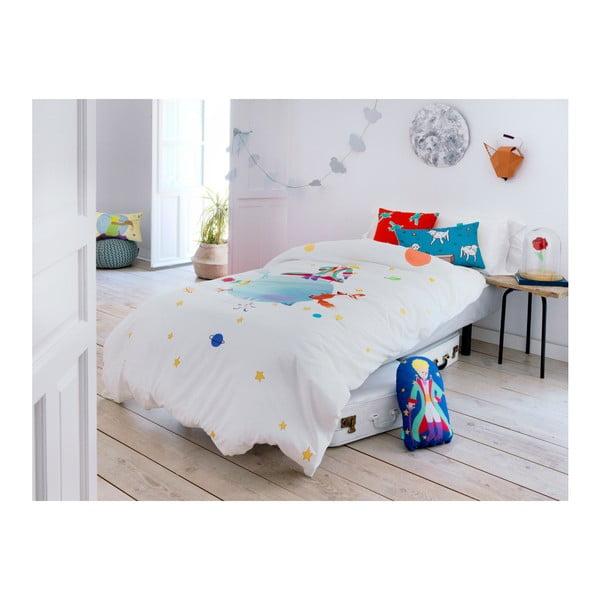 Detské bavlnené obliečky na paplón a vankúš Mr. Fox Le Petit Prince, 140 × 200 cm