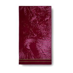 Ružová bavlnená osuška Casa Di Bassi Palm, 100x180 cm