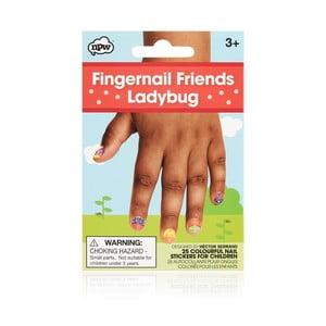 Sada nálepiek na nechty npw™ Ladybugs
