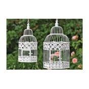 Sada 2 dekoratívnych závesných klietok Bird Cage