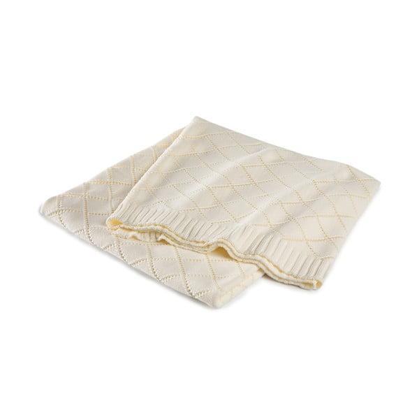 Prikrývka Madeleine White, 130x170 cm