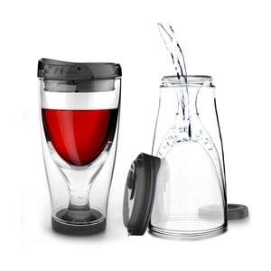 Termoska Ice Vino 2GO, čierna