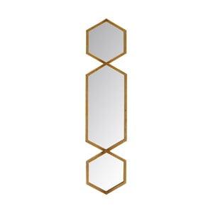 Zrkadlo Golden Three, 18x76 cm