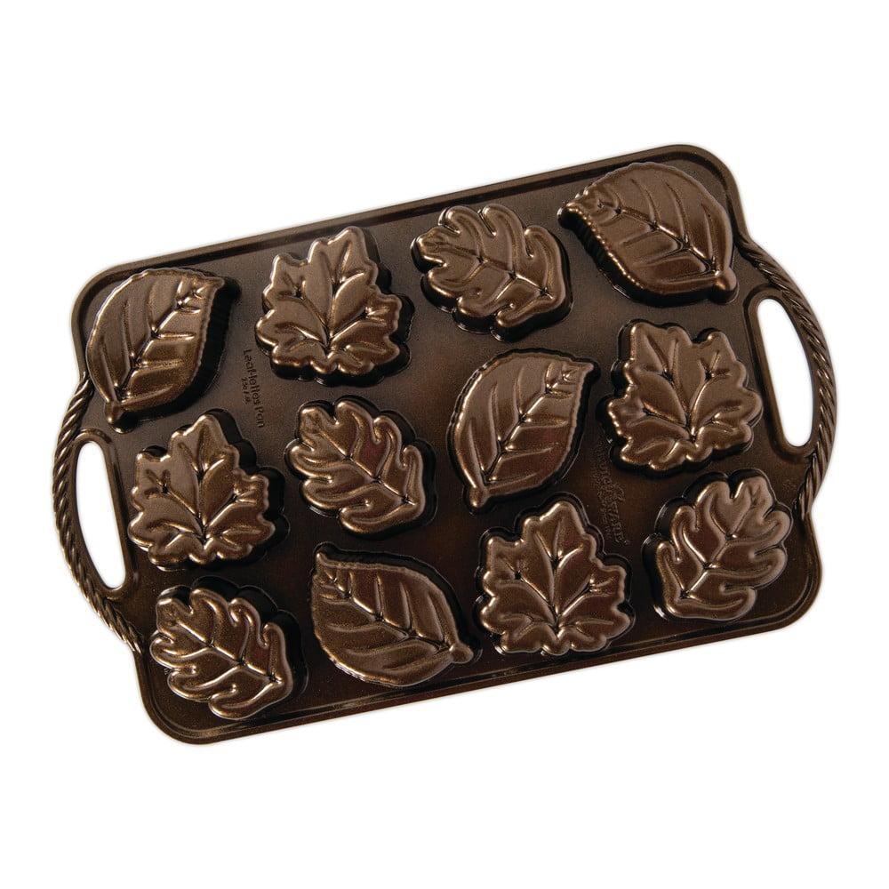 Forma na 12 minibáboviek Nordic Ware Leaves, 0,6 l