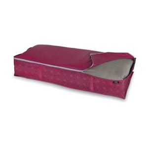 Fialový úložný box na paplón Bonita Ella, veľ. XL