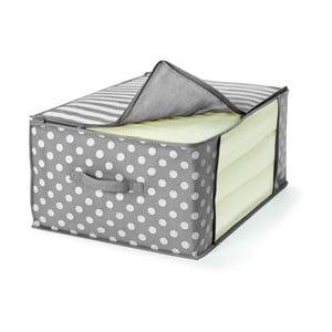 Sivý úložný box na prikrývku Cosatto Trend, 60×45cm