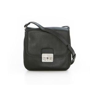 Čierna kožená kabelka Gianni Conti Ofelia