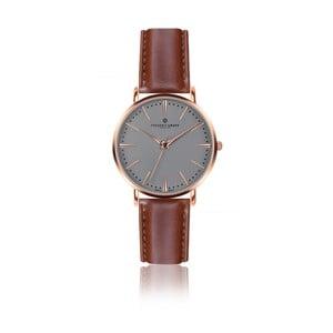 Pánske hodinky s koňakovohnedým remienkom z pravej kože Frederic Graff Rose Eiger Cognac Leather