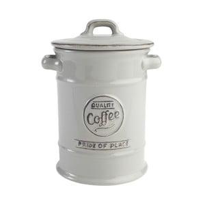 Sivá keramická dóza na kávu PrideofPlace