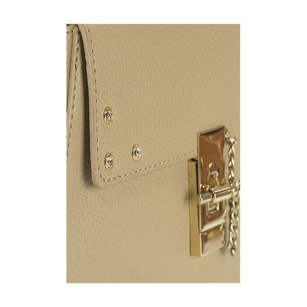 Kožená kabelka Giorgio Costa 15011 Taupe