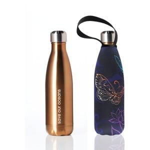 Cestovná termofľaša s obalom BBYO Butterfly, 500ml
